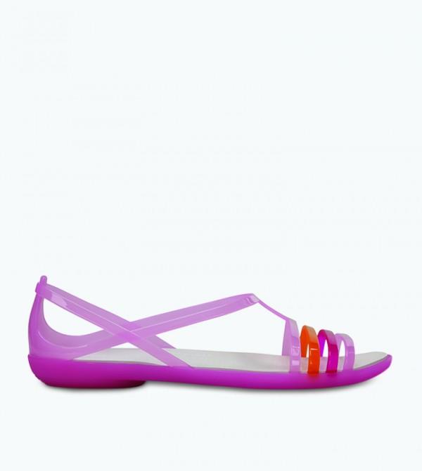 Isabella Sandal - Purple - CR-202465-6N6-CARNATION-WHITE
