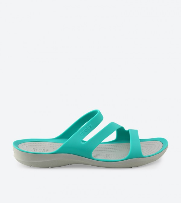 Swiftwater Sandals - Green - CR-203998-3O2-TROPICAL-TEAL-LIGHT-GREY