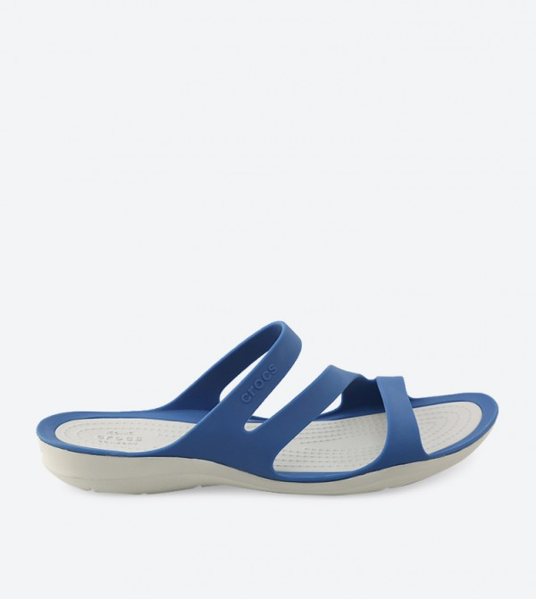 Swiftwater Sandals - Blue - CR-203998-4HP-BLUE-JEAN-PEARL-WHITE