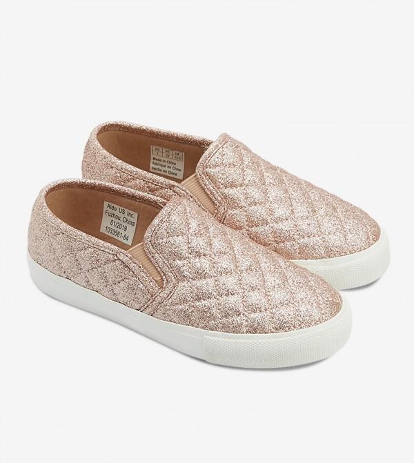 حذاء غويركا سهل الإرتداء بلون نحاسي