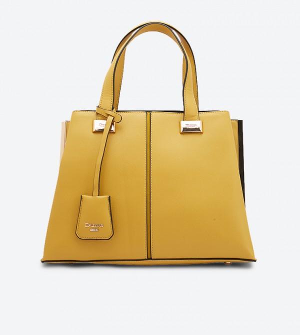حقيبة يد دينيدافارد بلون أصفر