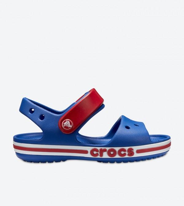 Bayaband Round Toe Velcro Closure Sandal - Blue