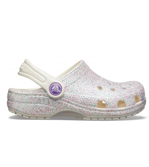 Kids' Classic Glitter Clog