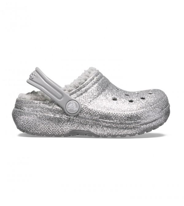 Kids' Classic Glitter Lined Clog