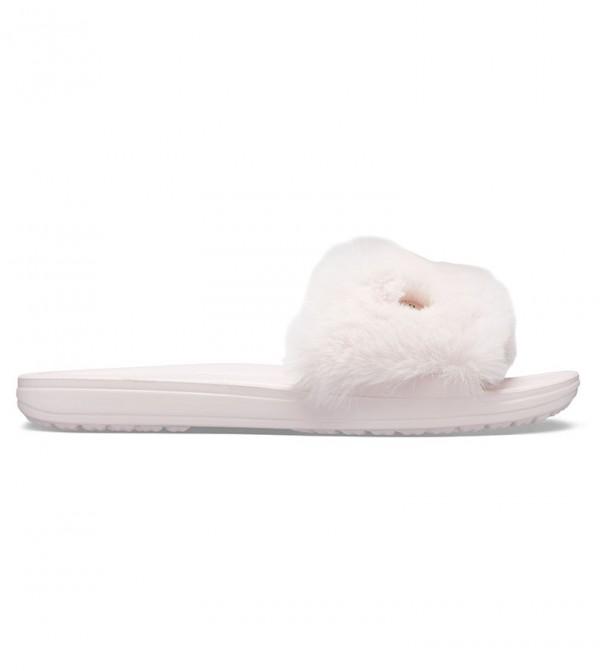 Women's Crocs Sloane Luxe Slide