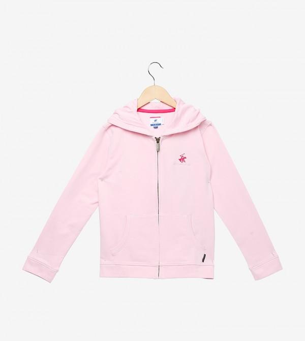 Zip-Thru Hoodie-Bp Oh So Pink
