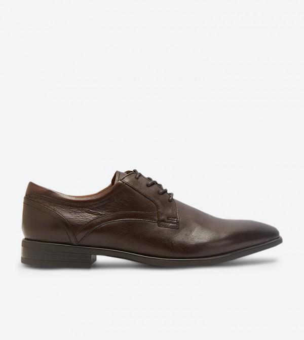 حذاء إيراريفين رسميبأربطة للإغلاق لون بني