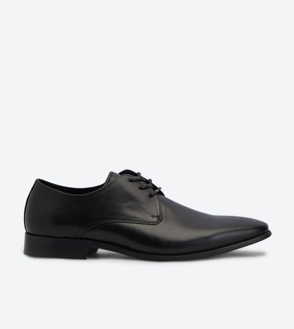 حذاء جودين رسمي بمقدمة مدببة لون أسود