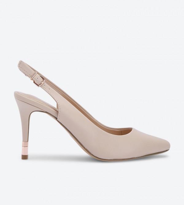 حذاء فادريليا بكعب عالي لون زهري