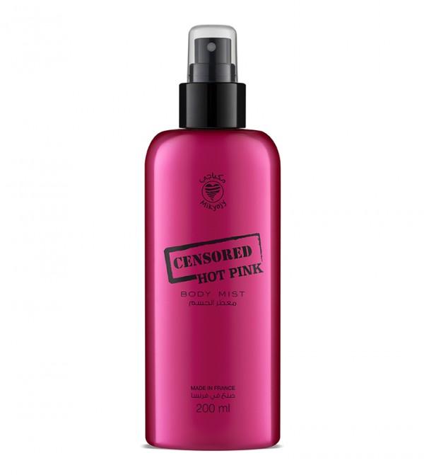 Censored Hot Pink Body Mist 200Ml - Pink