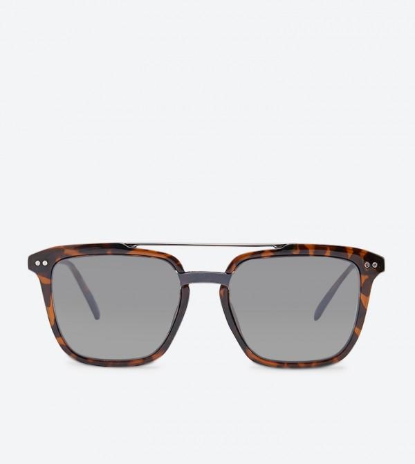 نظارات أفوان شمسية لون بني