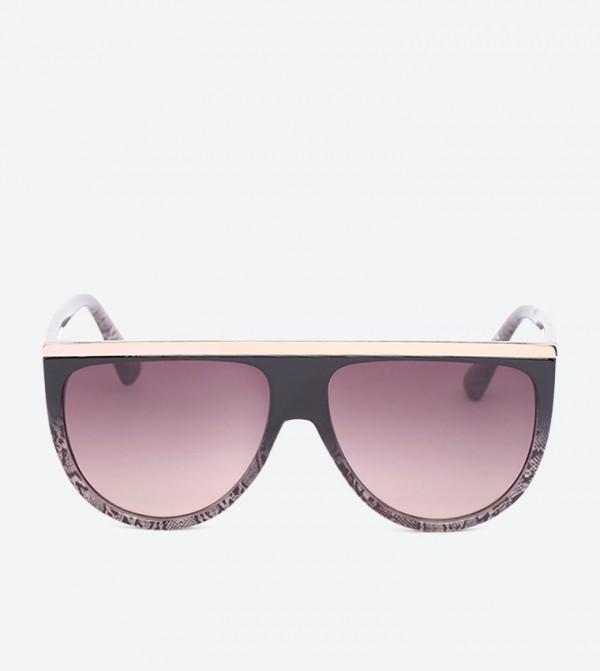 Dalegrove Half Circle Full Rim Sunglasses - Multi