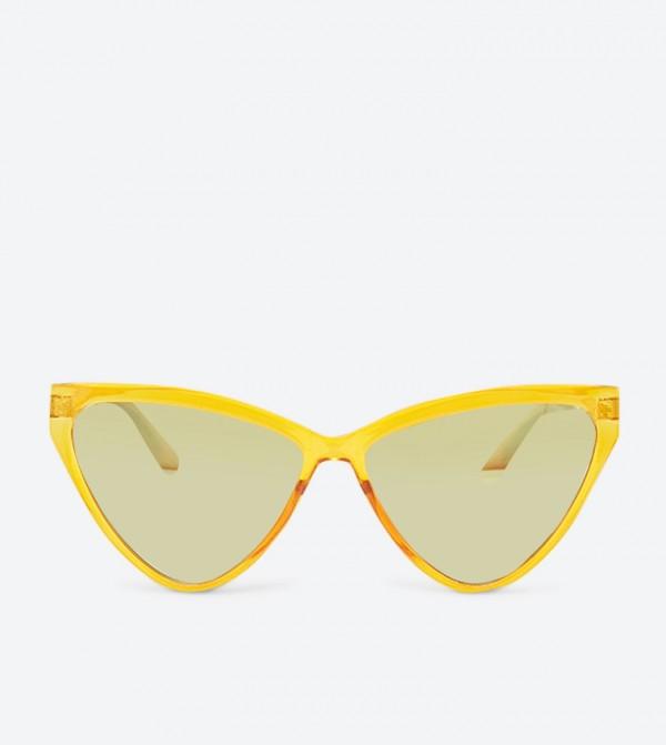 نظارات إيتيسيان شمسية بلون أصفر