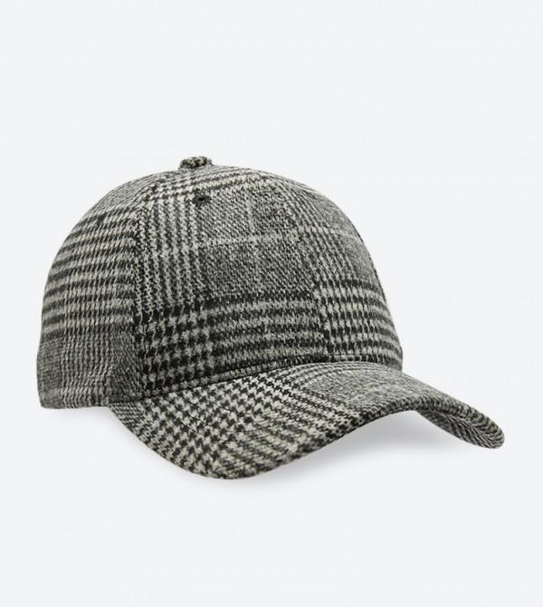 قبعة جواريليان مع شريط للإغلاق لون رمادي