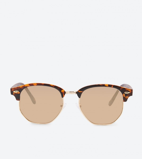 نظارة شمسية - بني
