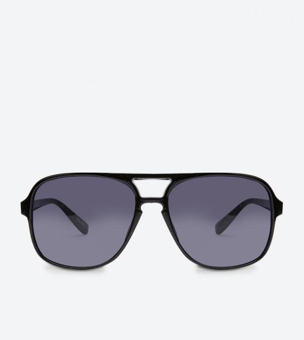 نظارات ميراسين شمسية بإطار مربّع لون اسود