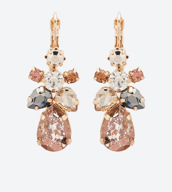 Latchback Fastening Raralia Drop Earrings - Multi