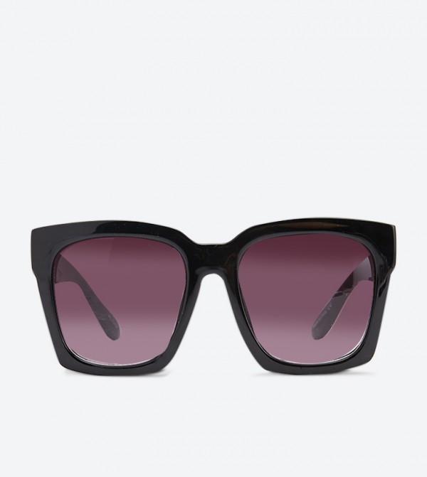 Square Shape Zumba Sunglasses - Black