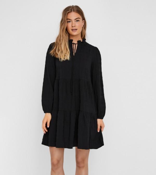 فستان واسع - اسود