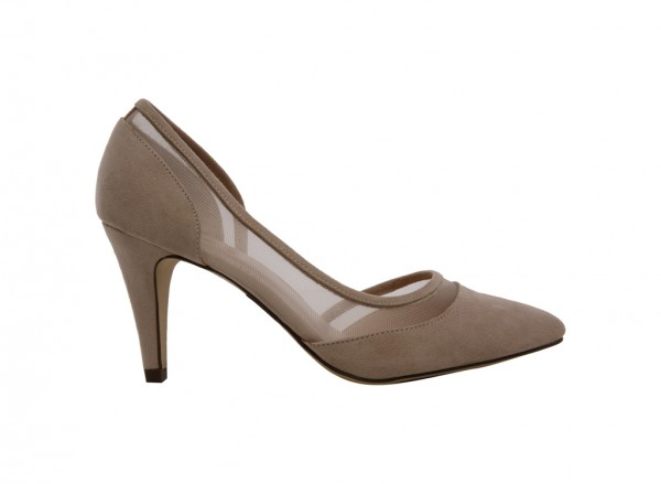 Dress Basic Beige Shoes-30110703-CORDRY