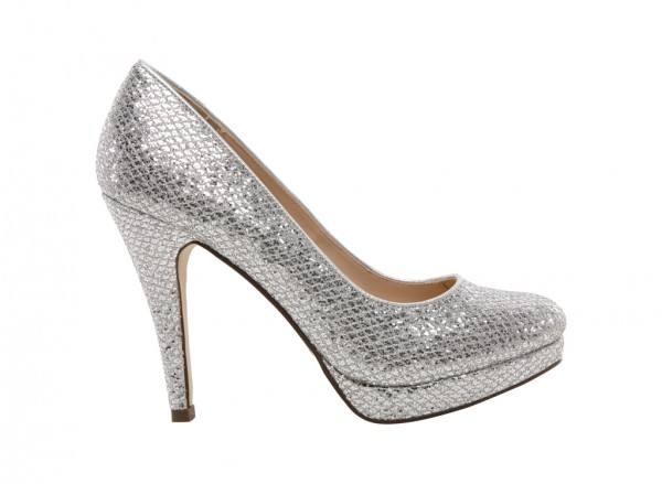 Dress Basic Silver Shoes