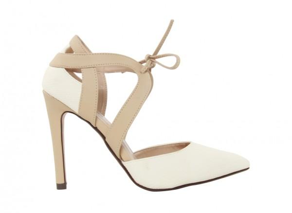 Woodrowa Grey High Heel
