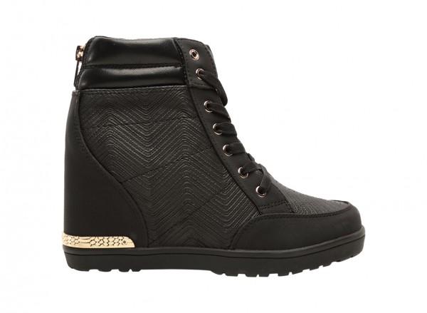 Gaoven Black Shoes