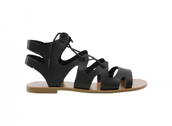Frimada Black Sandals