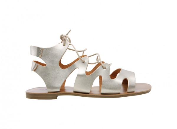 Frimada Metallic  Sandals