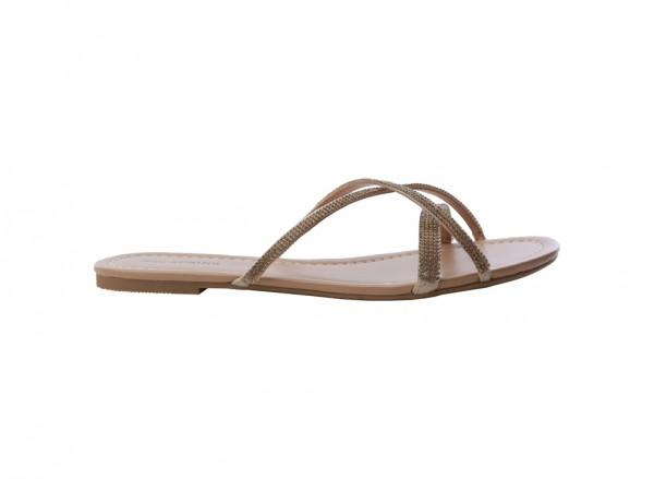 حذاء بني مسطح - جي أر إل جان