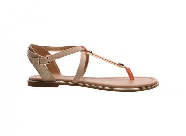 Miranalla Orange  Sandals