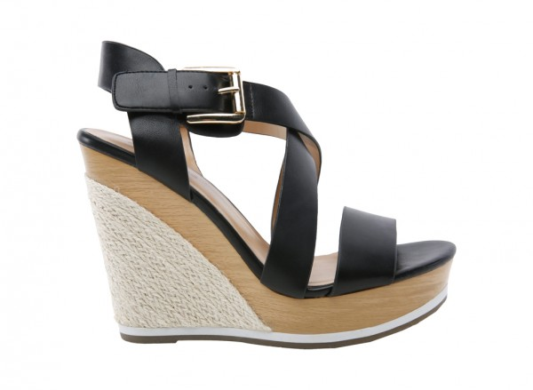 Lalisen Black Sandals