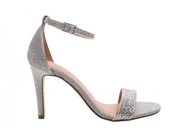 Waylanda Silver  Sandals