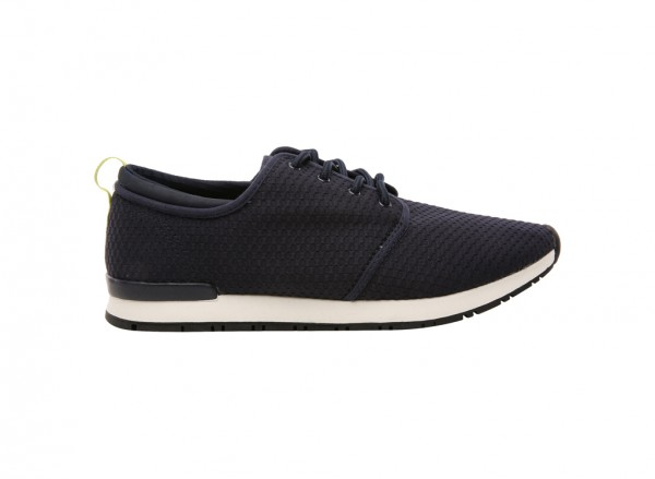 Braud Navy Laced Shoe