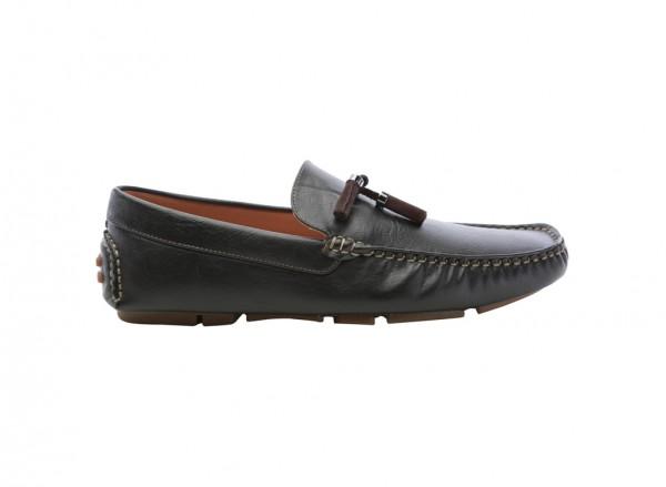 Henrich Black Loafers