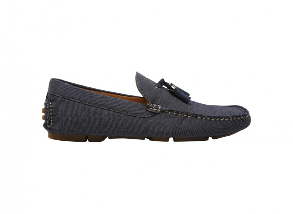 Henrich Navy Loafer