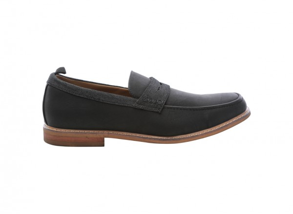 Calewet Black Loafers