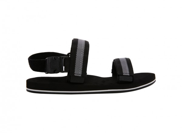Sport Fashion Black Sandals-30220201-DENOIA