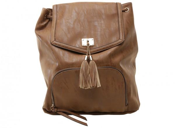 Spy Brown Backpack