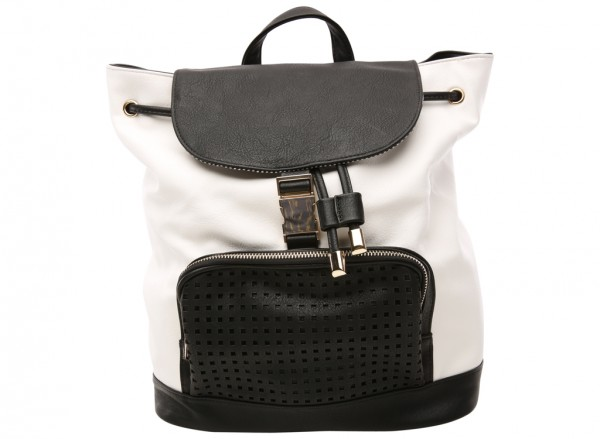 Caselette White Backpacks