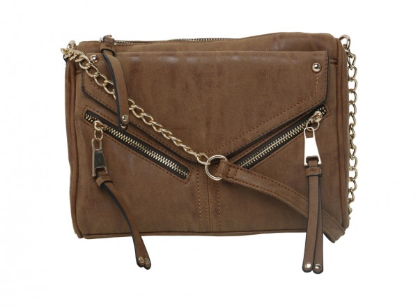 Chesnut Brown Cross Body Bag