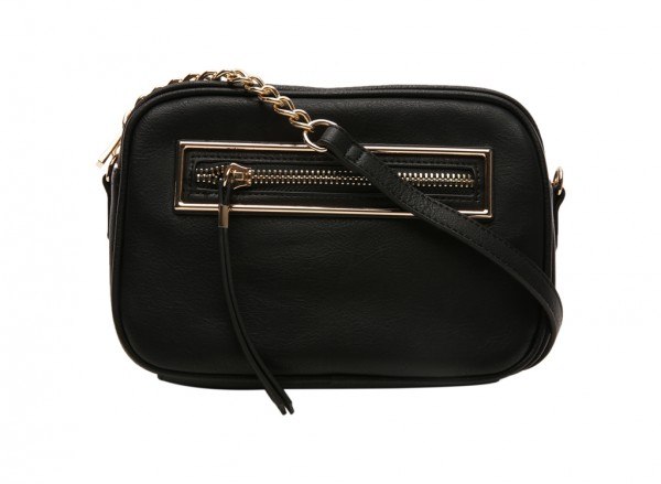 End Black Cross Body Bag