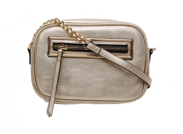 End Gold Cross Body Bag