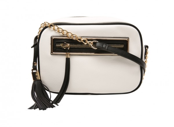 End White Cross Body Bag