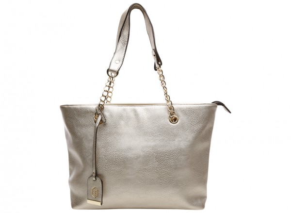 Kamber Gold Shoulder Bags & Totes