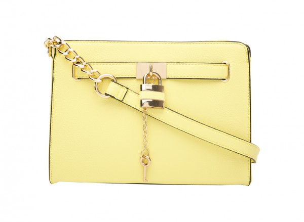 Orbetello Yellow Cross Body Bag