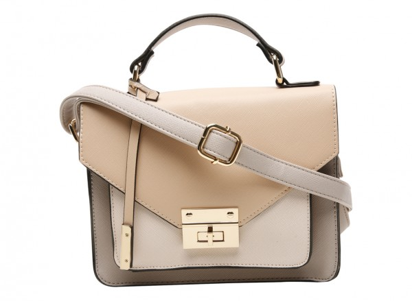 Solanum Beige Cross Body Bag