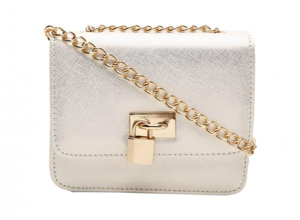 Enoch Gold Cross Body Bag