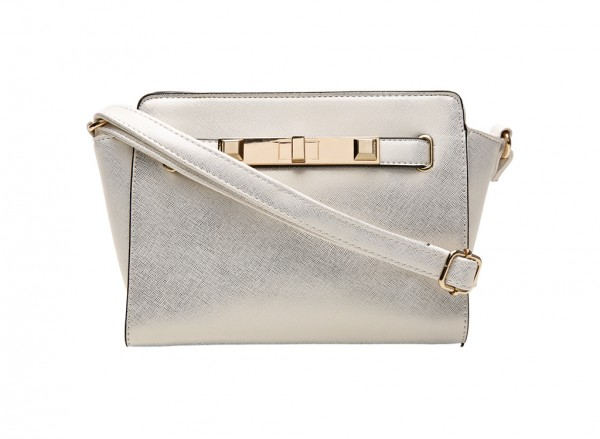 Saratoga Gold Cross Body Bag