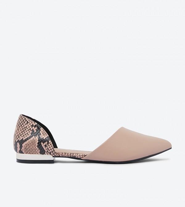 حذاء باليرينا أندريه بمقدمة مدببة وتصميم انيق